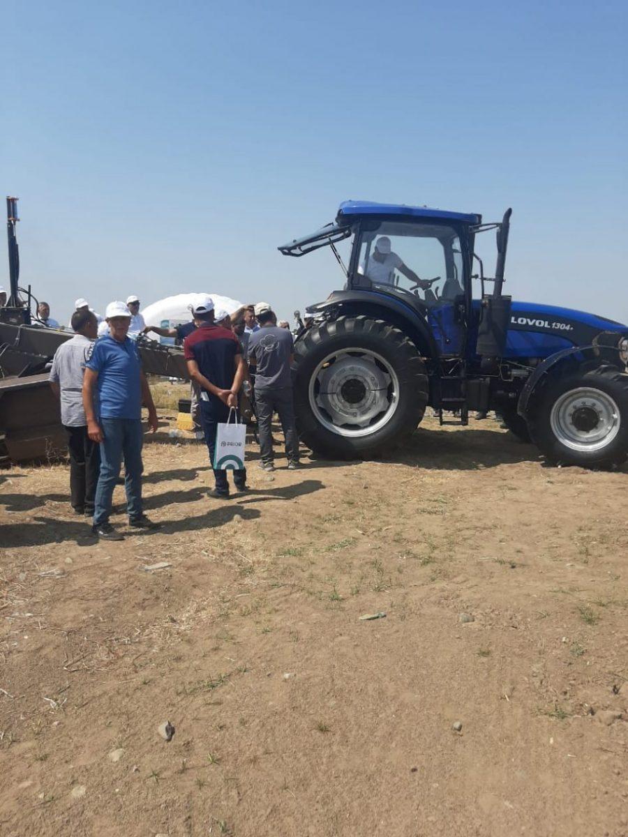 umut agro lazer mala və lovol traktorlarının təlimi